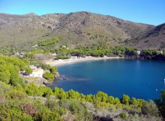 Fonds d'�cran Nature crique sur la costa brava