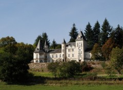 Fonds d'�cran Constructions et architecture Chateau de Tremolin a st Just en Chevalet ,Loire 42