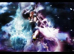 Fonds d'�cran Jeux Vid�o Final Fantasy XIII-2 Lightning