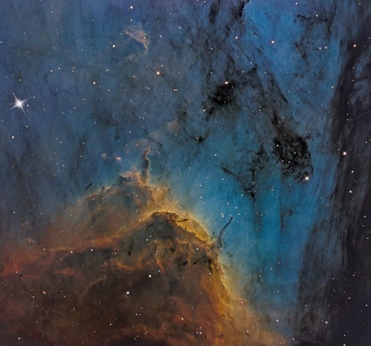 Wallpapers Space Stars - Nebulae N�buleuse du P�lican