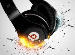 Fonds d'�cran Musique Beats explosion