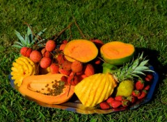 Wallpapers Trips : Africa Fruits des �les...