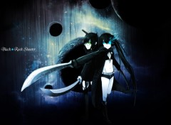 Fonds d'�cran Manga Black★Rock Shooter