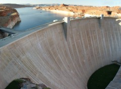 Fonds d'�cran Constructions et architecture Le barrage de lac Powell
