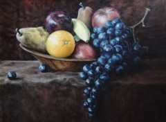 Fonds d'�cran Art - Peinture Fruits