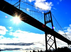 Fonds d'cran Voyages : Amrique du nord Thousand islands Bridge