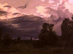 Fonds d'cran Art - Peinture Orage