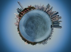 Fonds d'�cran Art - Num�rique My little big apple's planet