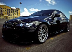 Wallpapers Cars BMW M3 2010 Black
