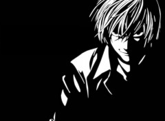 Fonds d'�cran Manga Death Note Kira