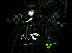 Fonds d'�cran Manga black rock shooter