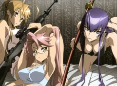 Manga high school of the dead
