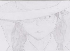 Art - Crayon Monkey D Luffy
