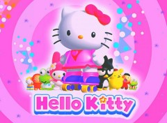 Dessins Anim�s Hello Kitty Le Jeu