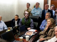  Cinma Obama & The Joker !