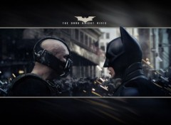 Cin�ma The Dark Knight Rises 2560x1600 - Bane vs Batman