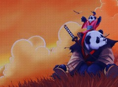 Cartoons Pandy Panda mes h�ros.