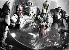  Jeux Vido Tous les personnages de Arkham City