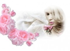 Art - Num�rique Love lace and roses - Amour dentelle et roses