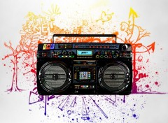 Art - Num�rique Ghetto Blaster
