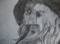 Art - Crayon Davy Jones