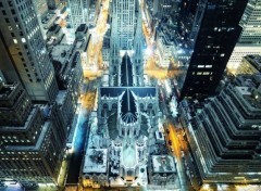 Constructions et architecture Cath�drale � New York