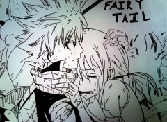 Art - Crayon Affiche du film de Fairy tail qui sort le 18 aout 2012 au cinema japonais