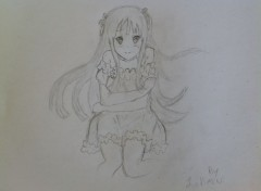 Art - Crayon K-ON! Mio