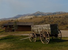 Voyages : Am�rique du nord Goosewing ranch [Wyoming]