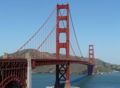 Voyages : Am�rique du nord Golden Gate Bridge