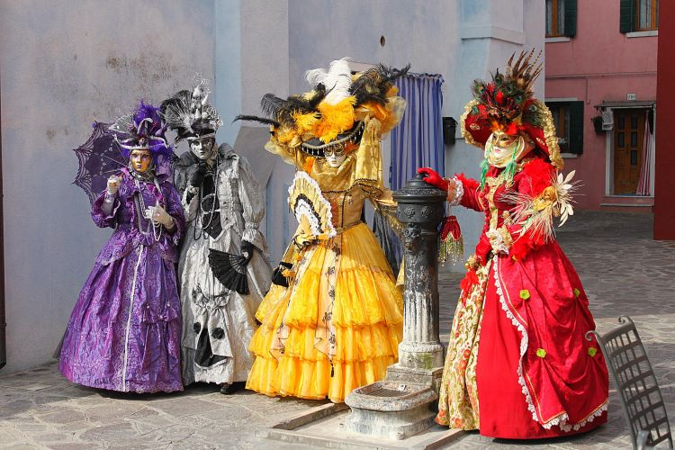 costumes de carnaval de rio