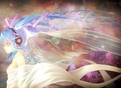 Manga Hatsune Miku angel