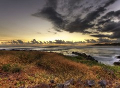 Nature Coucher de soleil - R�union