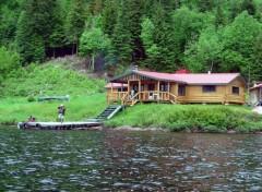 Trips : North America CHALET LAC DU PLANPERDU