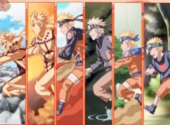Manga Naruto Evolution