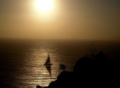 Voyages : Europe Oia Sunset