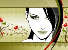 Digital Art La dame blanche
