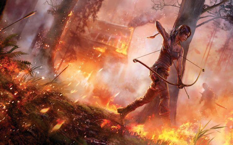 Fonds d'�cran Jeux Vid�o Tomb Raider tomb raider 2013 lara croft
