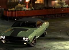 Video Games Dodge Challenger R/T '70