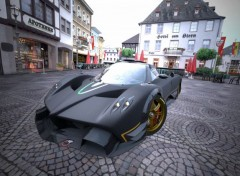 Video Games Pagani Zonda R '09