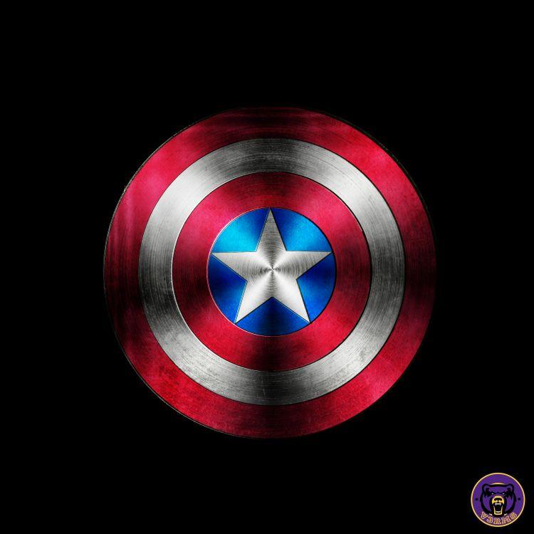 Fonds d 39 cran comics et bds fonds d 39 cran captain - Bouclier capitaine america ...