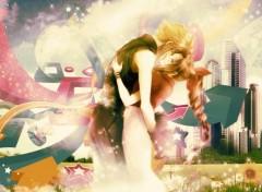 Jeux Vid�o Aerith & Cloud