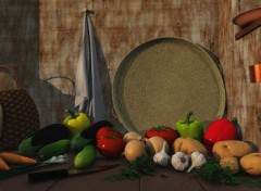 Art - Num�rique Nature morte
