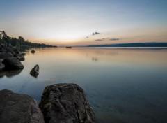 Nature Juste avant l'aube