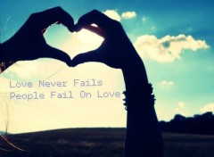 Hommes - Ev�nements Love Never Fails