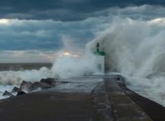 Nature La mer en colère