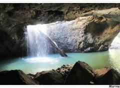 Trips : Oceania The natural bridge, Springbrook national park