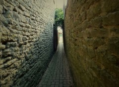 Constructions and architecture Passage �troit et myst�rieux